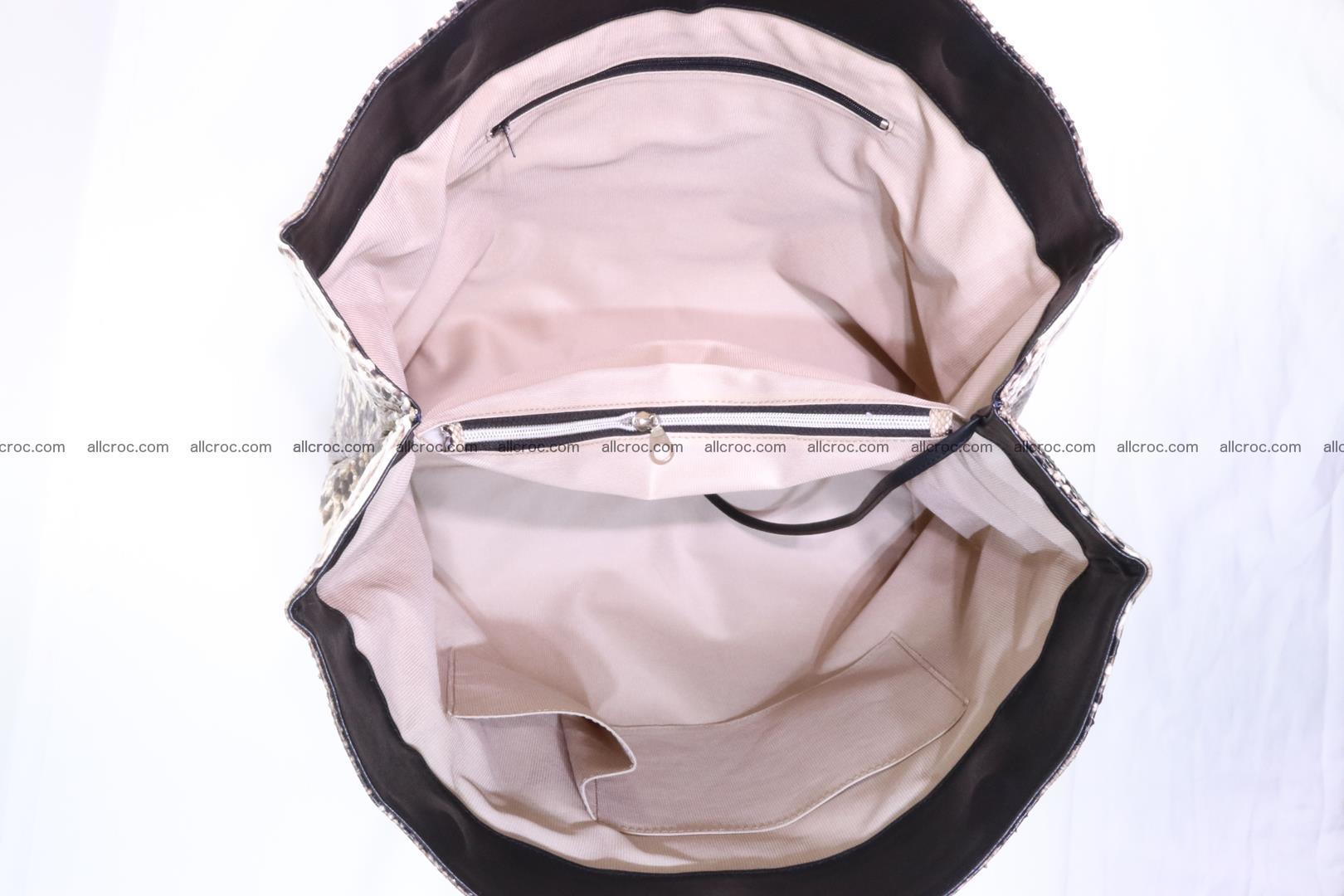 Python handbag for lady 203 Foto 12