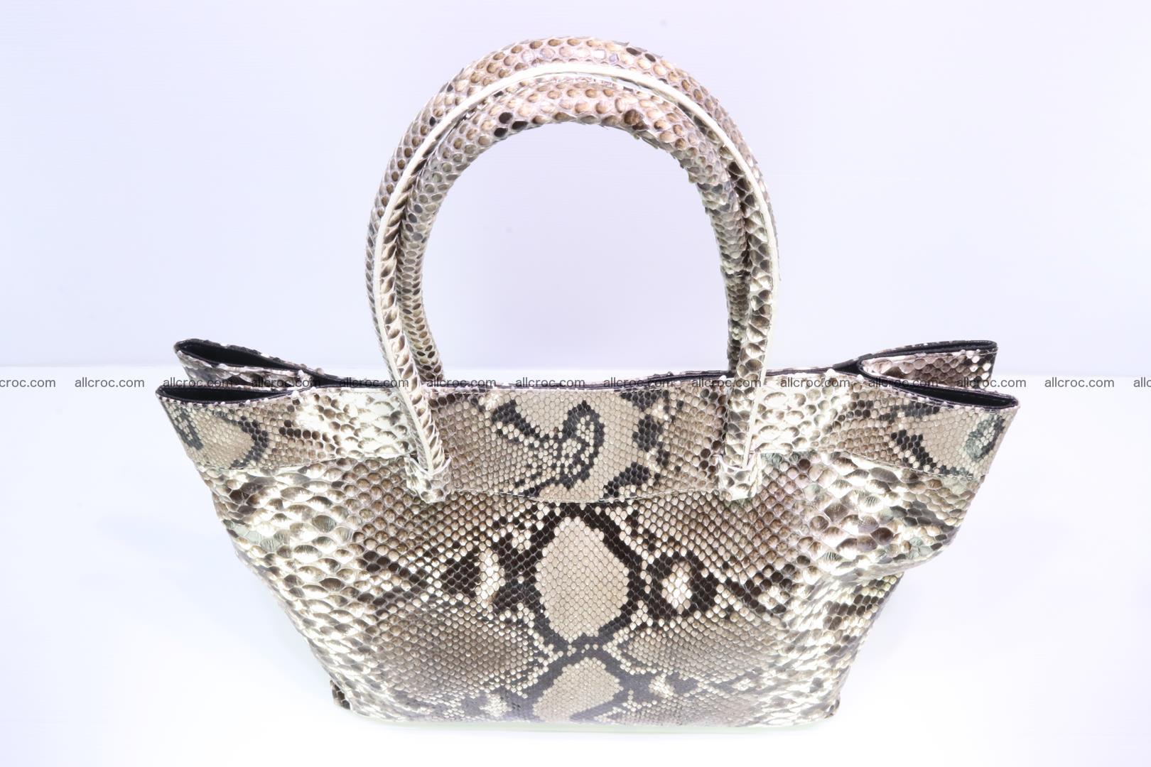 Python handbag for lady 203 Foto 4