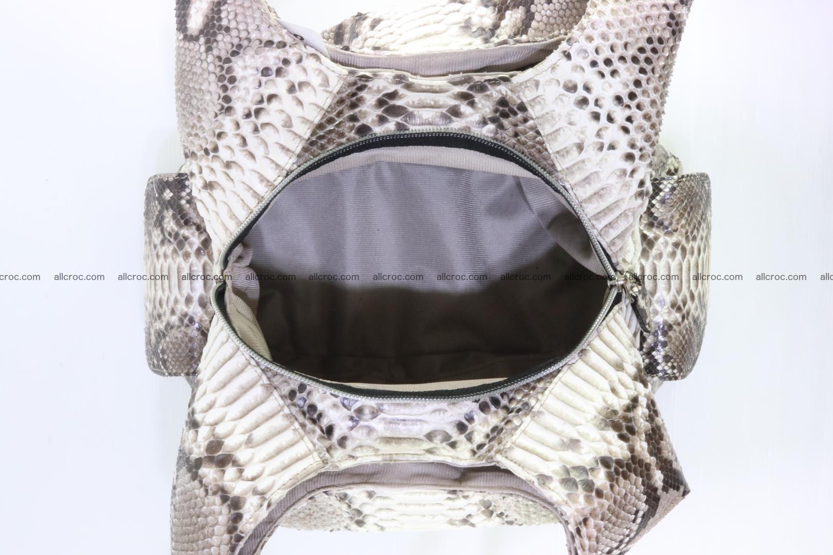 Python handbag for lady 175 Foto 9