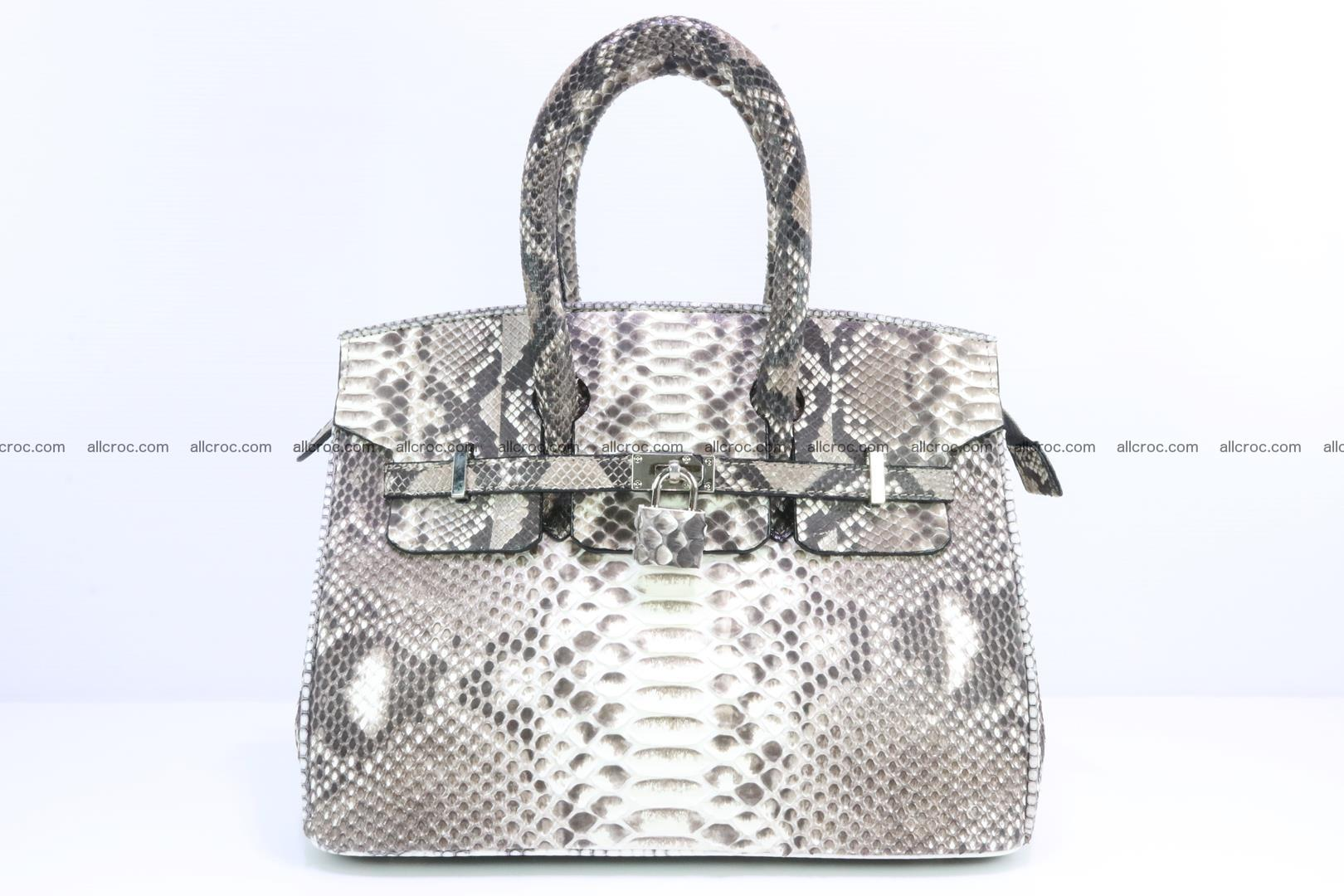 Python handbag for lady mini Birkin 178 Foto 0