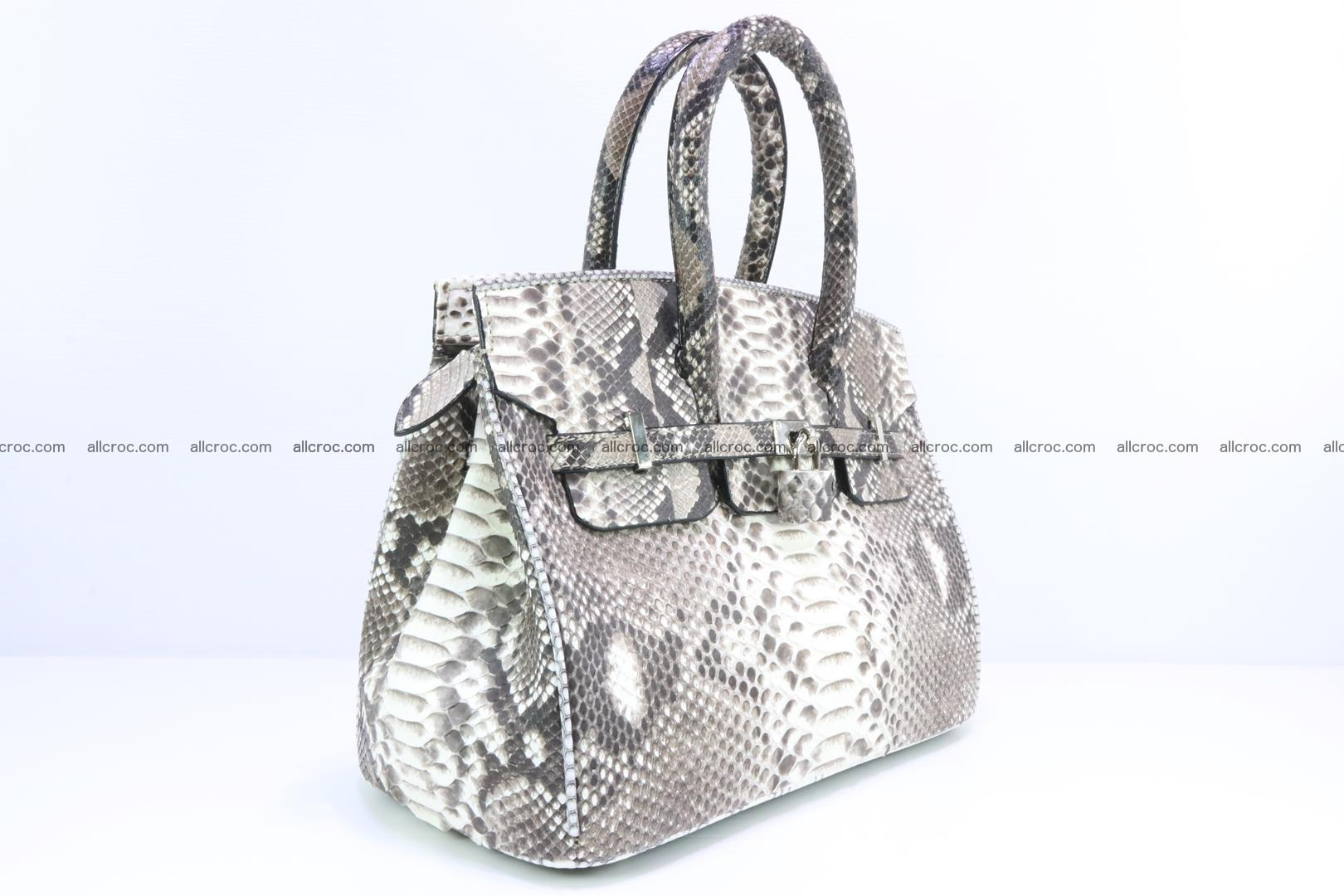 Python handbag for lady mini Birkin 178 Foto 1