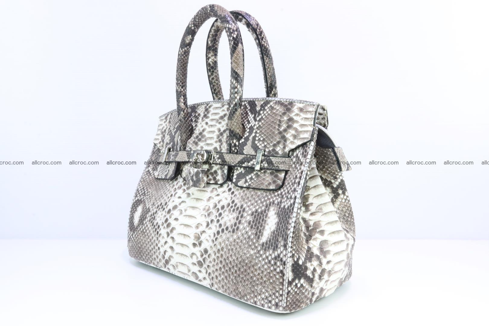 Python handbag for lady mini Birkin 178 Foto 2