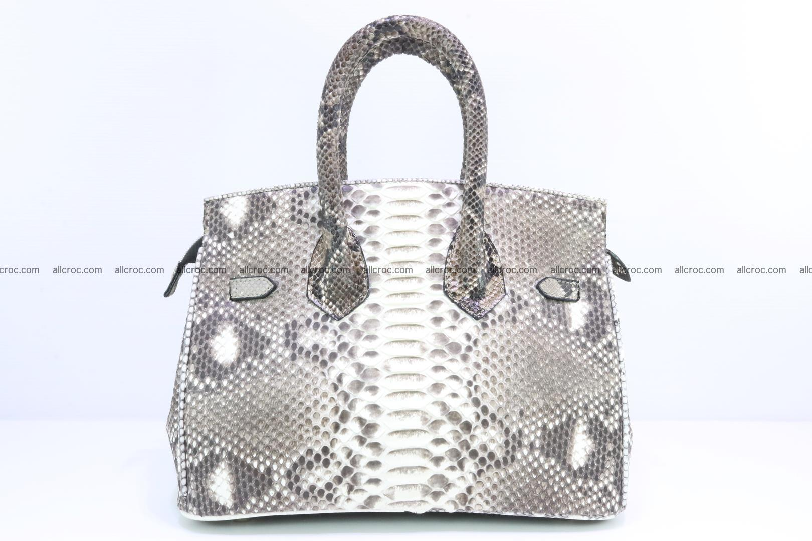 Python handbag for lady mini Birkin 178 Foto 3