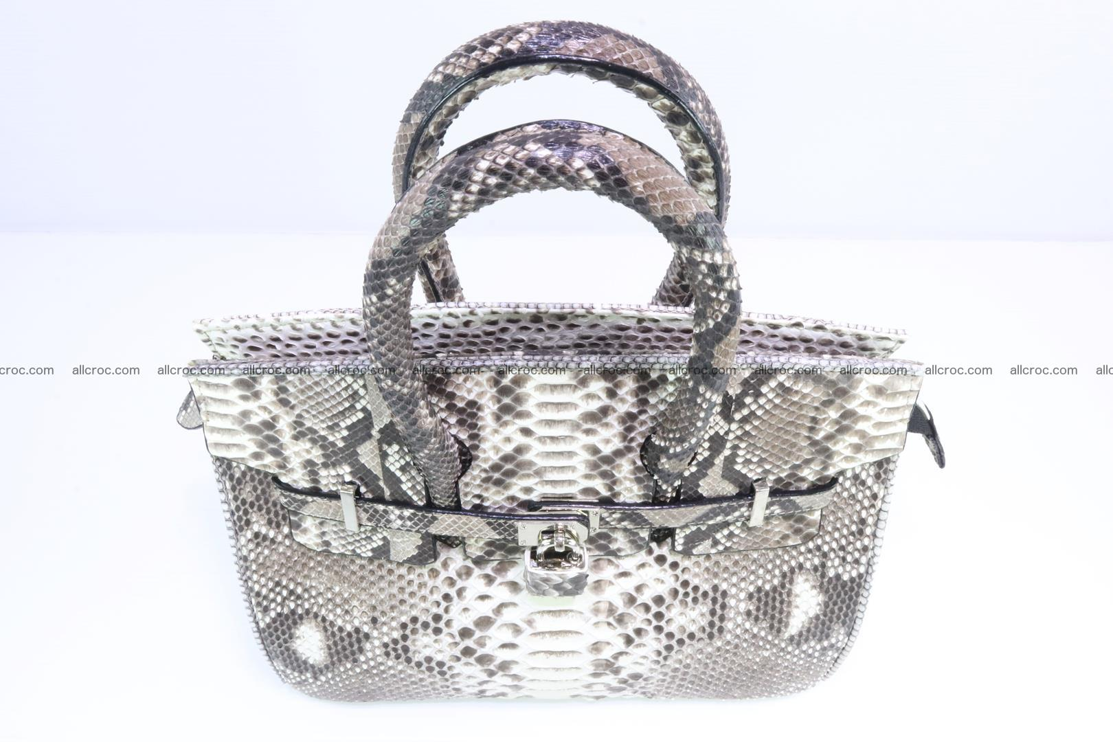 Python handbag for lady mini Birkin 178 Foto 5