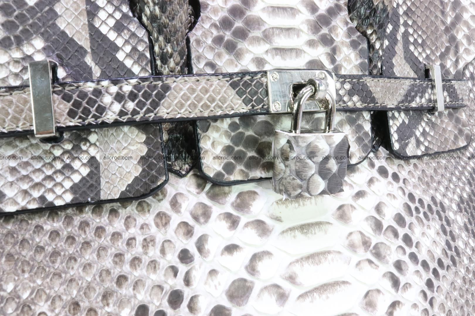Python handbag for lady mini Birkin 178 Foto 6