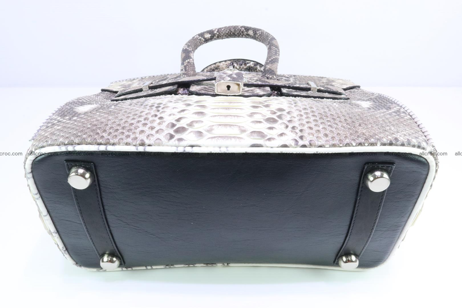Python handbag for lady mini Birkin 178 Foto 8