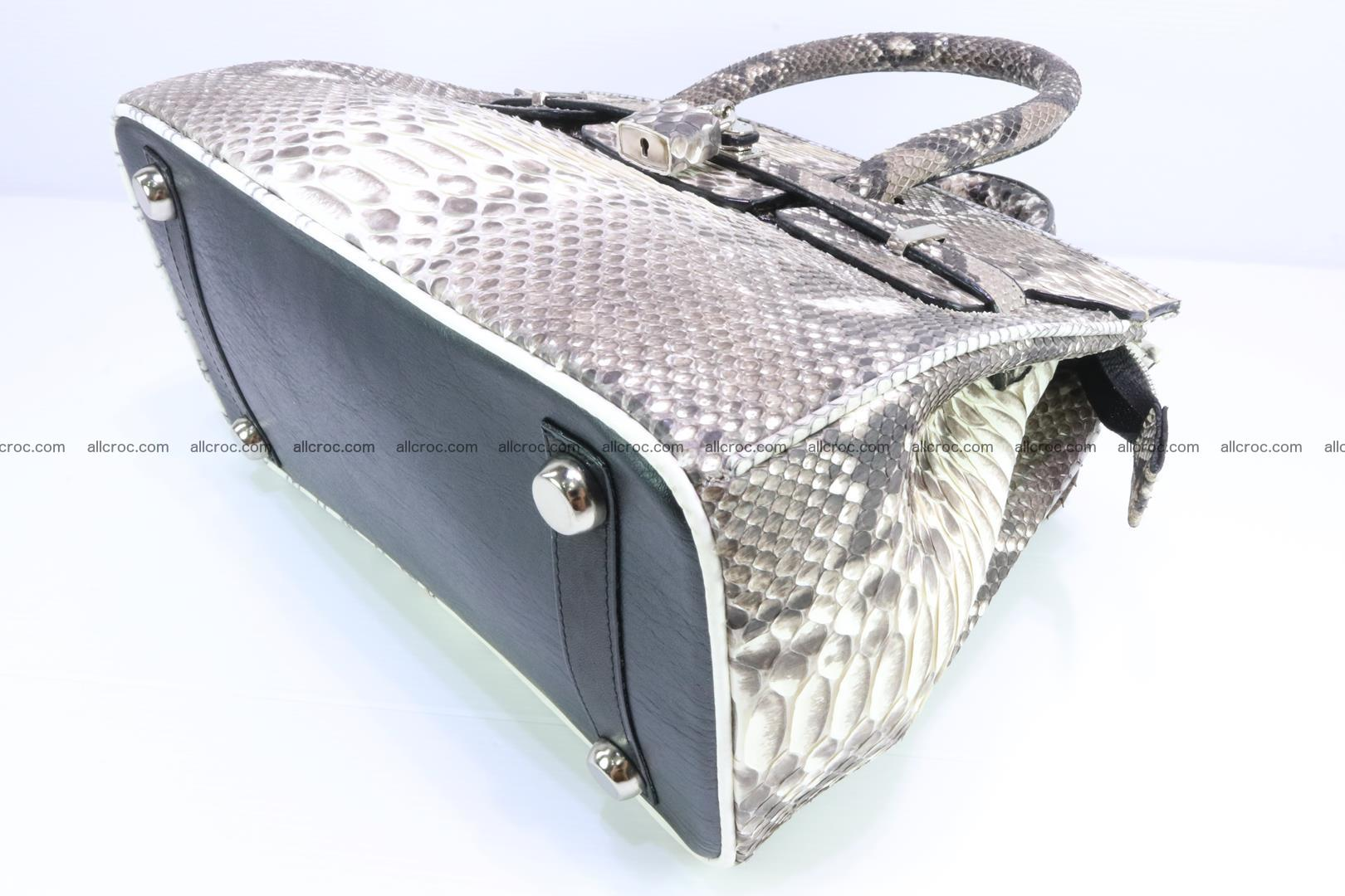 Python handbag for lady mini Birkin 178 Foto 10