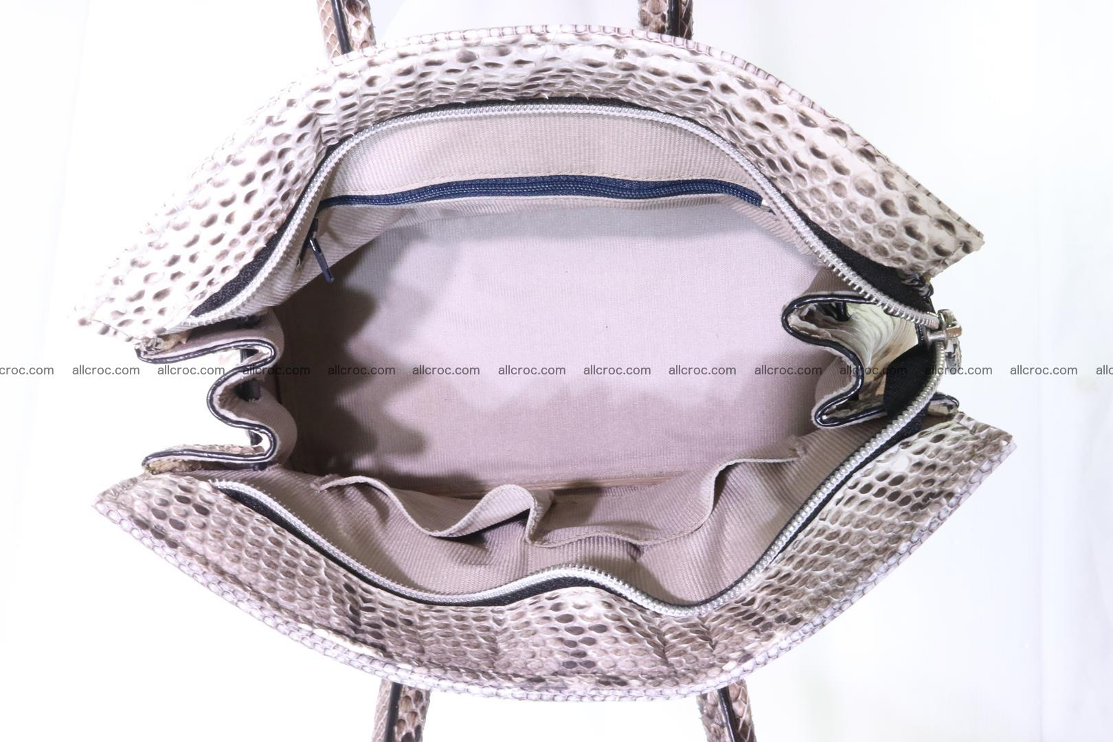 Python handbag for lady mini Birkin 178 Foto 11