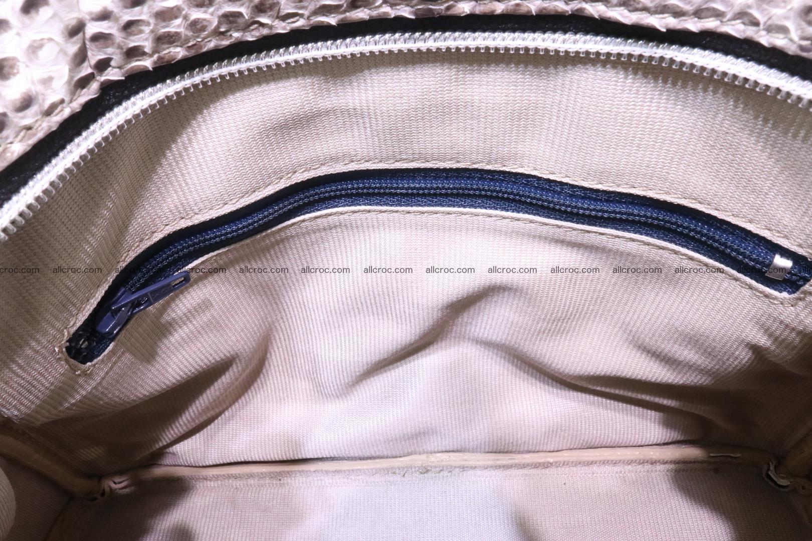 Python handbag for lady mini Birkin 179 Foto 12