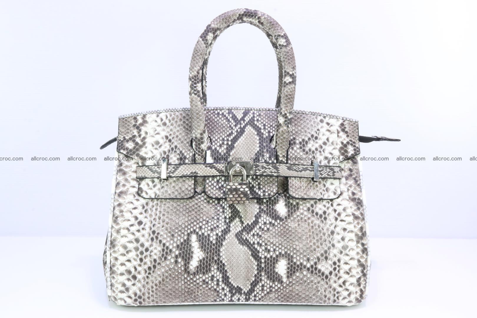 Python handbag for lady mini Birkin 179 Foto 0
