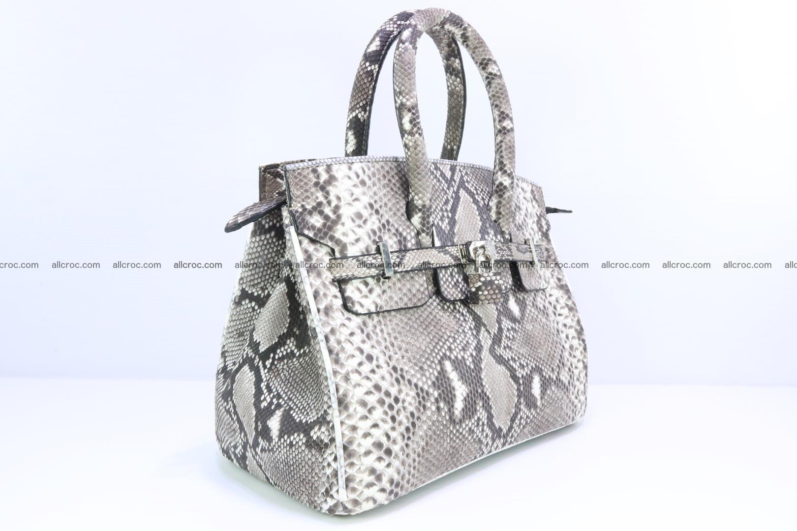 Python handbag for lady mini Birkin 179 Foto 1
