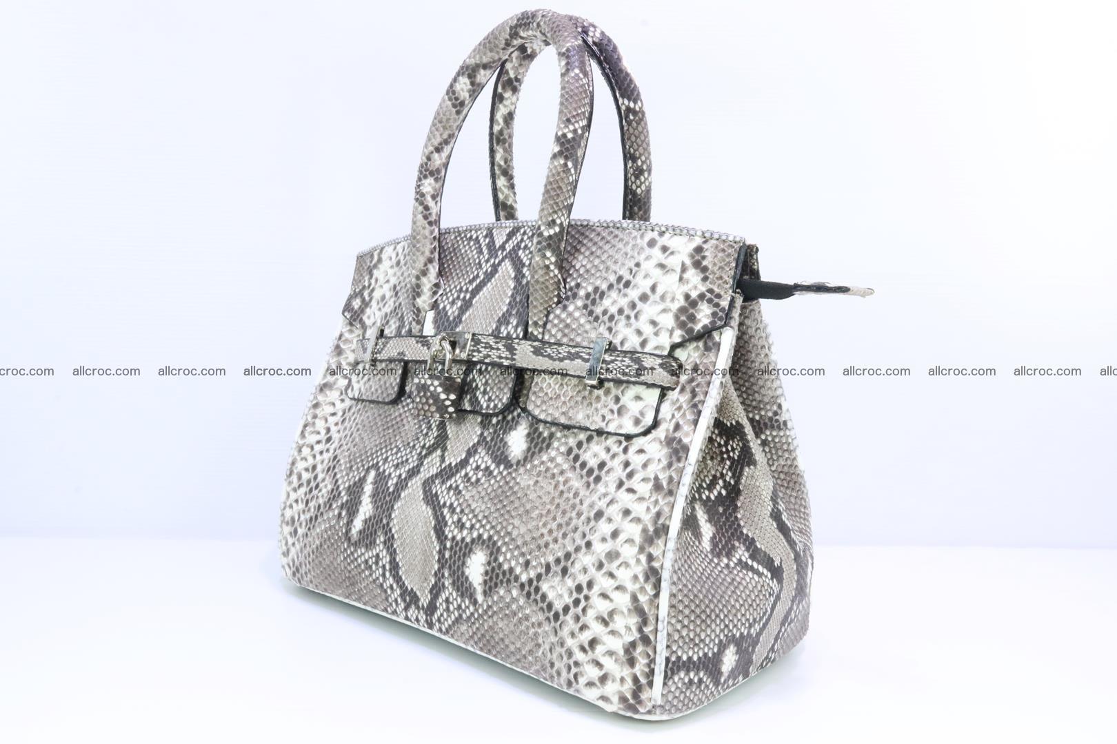 Python handbag for lady mini Birkin 179 Foto 2