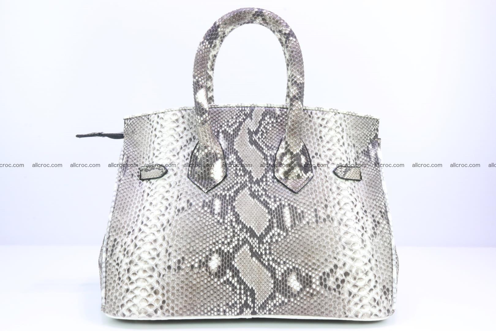 Python handbag for lady mini Birkin 179 Foto 3