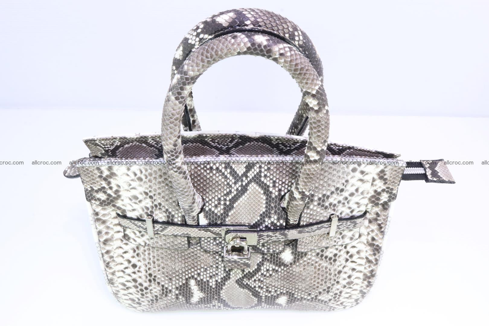 Python handbag for lady mini Birkin 179 Foto 5