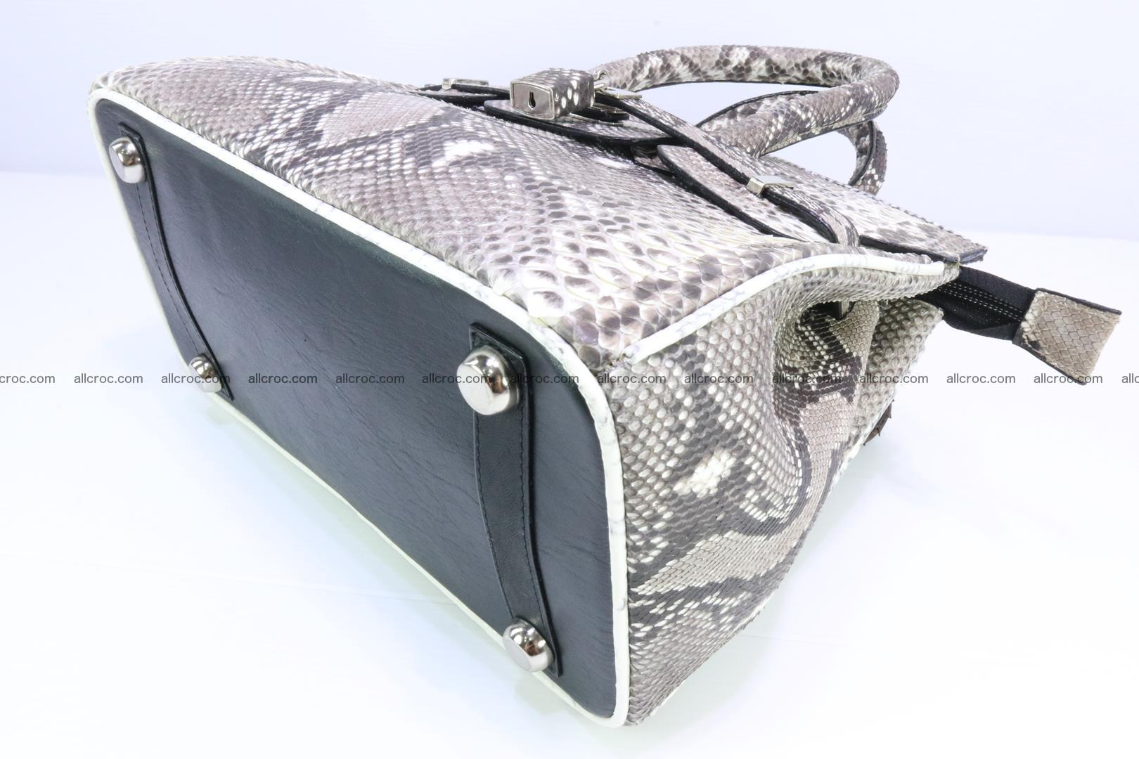 Python handbag for lady mini Birkin 179 Foto 10