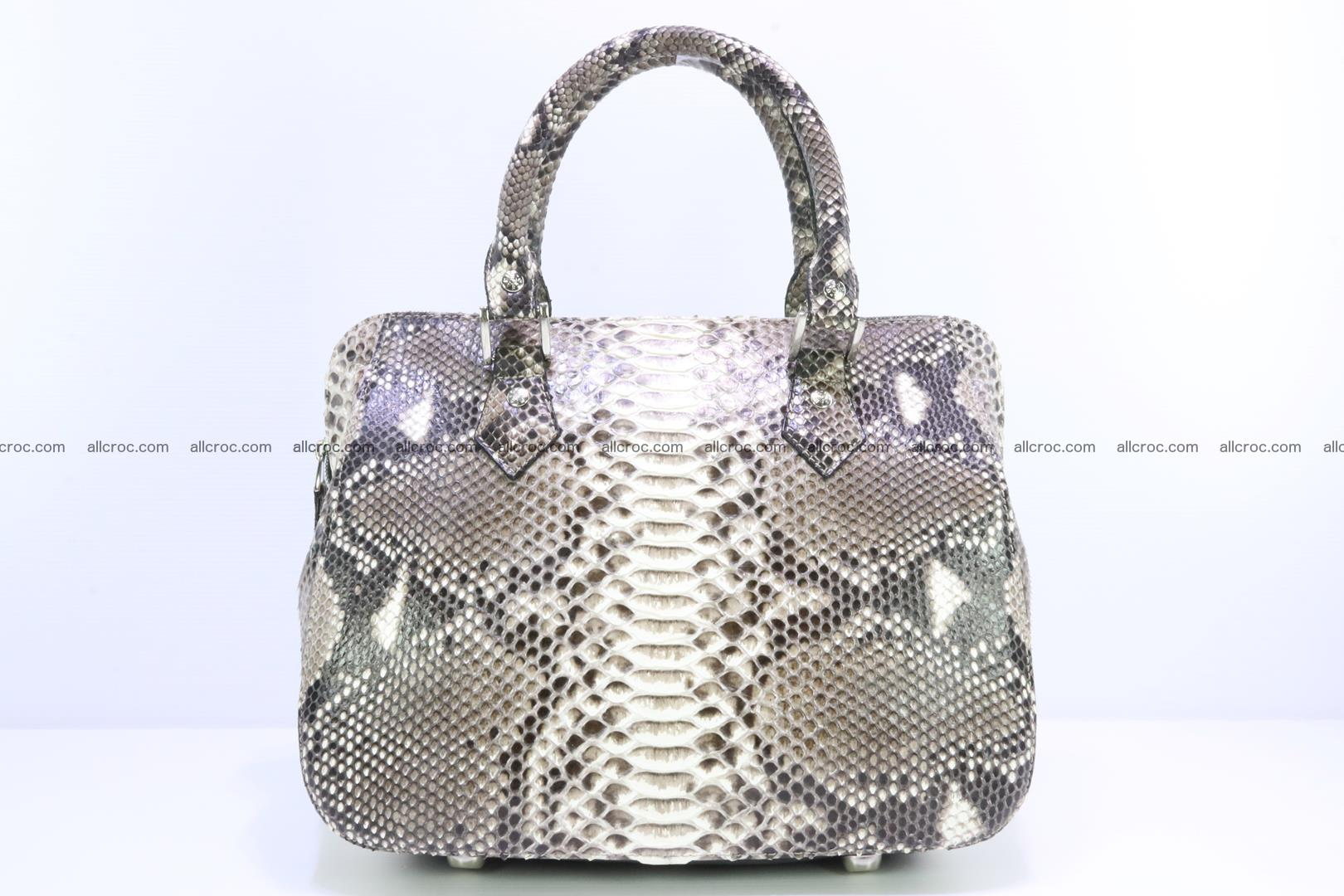Python handbag for women from genuine python skin 217 Foto 0