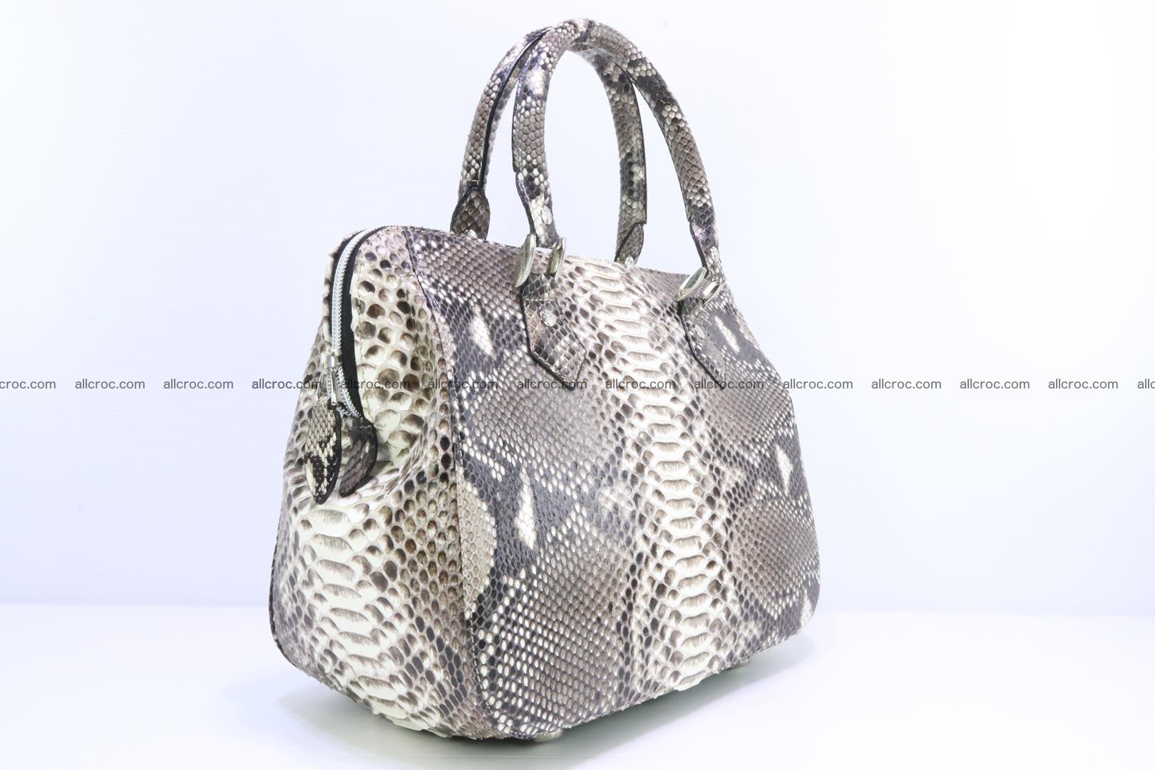 Python handbag for women from genuine python skin 217 Foto 1