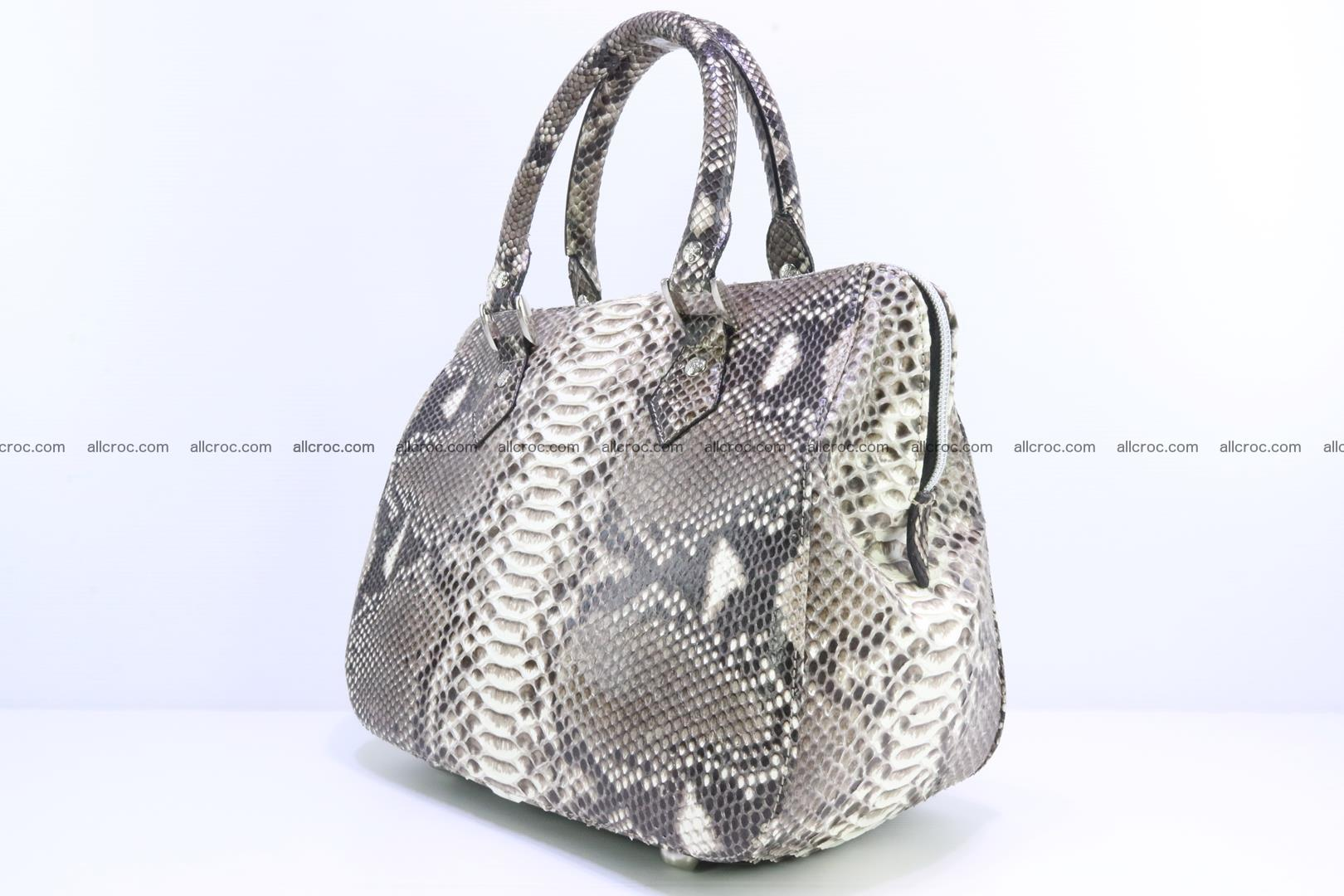 Python handbag for women from genuine python skin 217 Foto 2