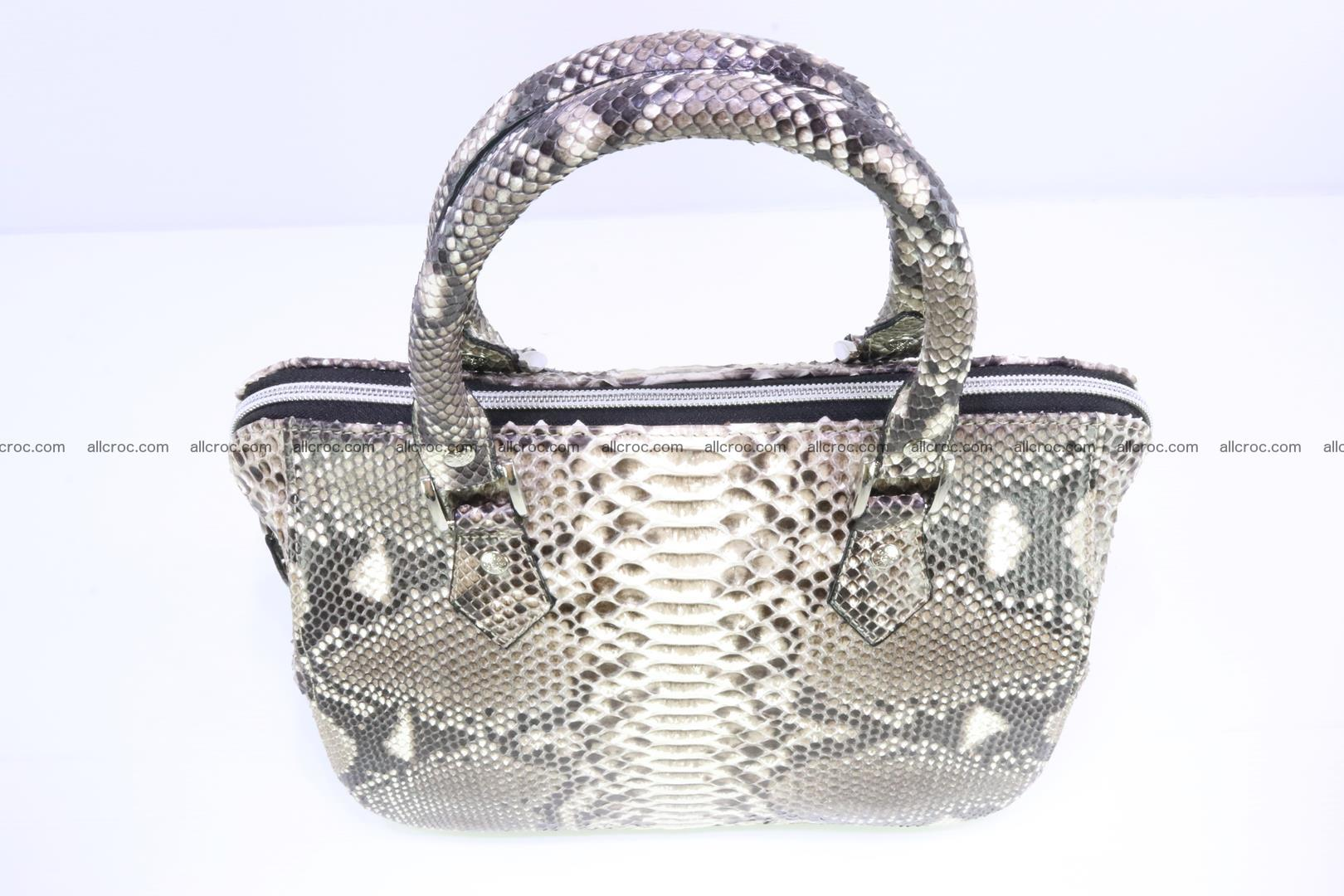 Python handbag for women from genuine python skin 217 Foto 4