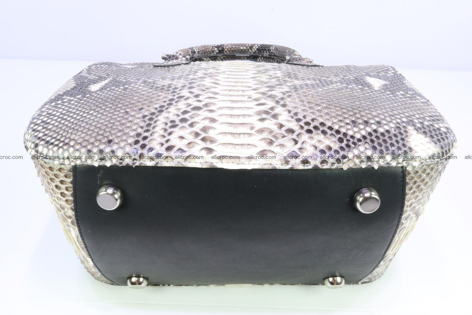 Python handbag for women from genuine python skin 217 Foto 5