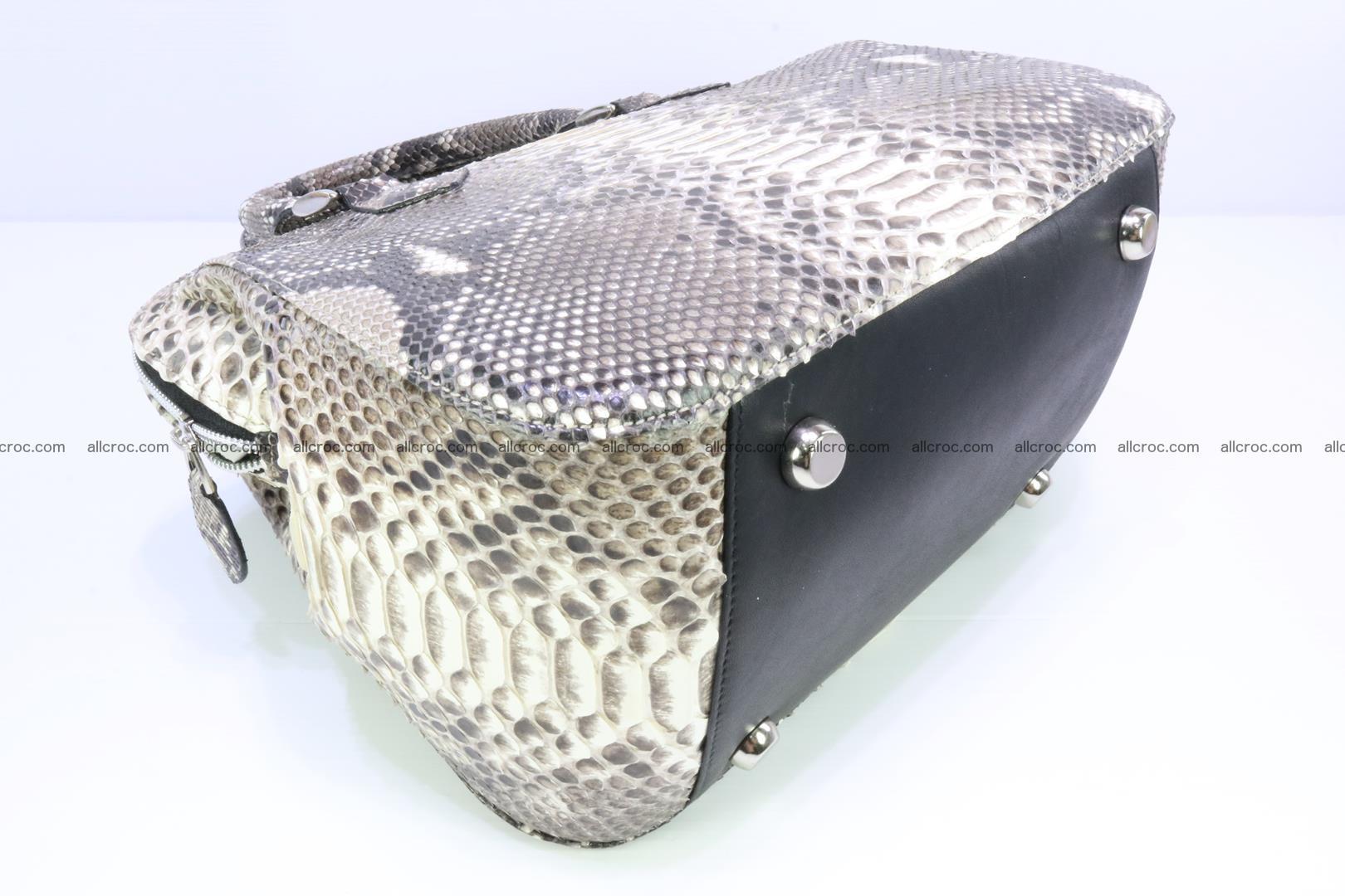 Python handbag for women from genuine python skin 217 Foto 6