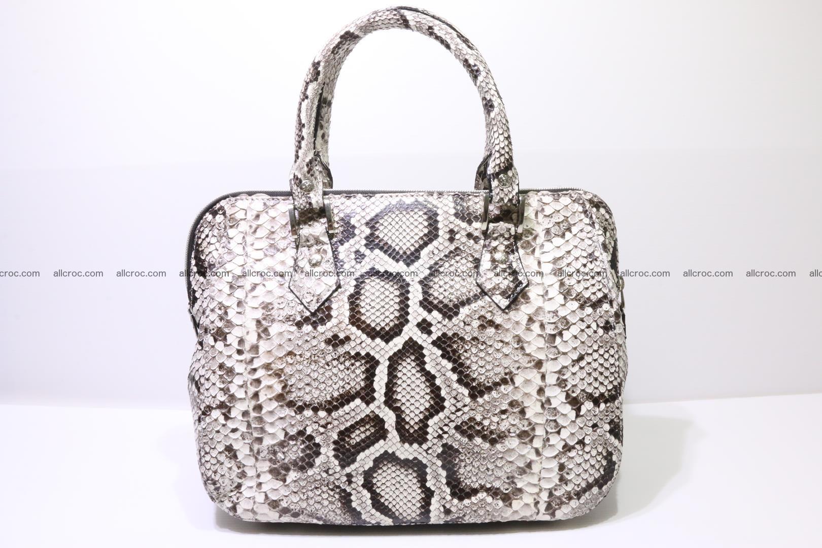 Python handbag for women from genuine python skin 218 Foto 0