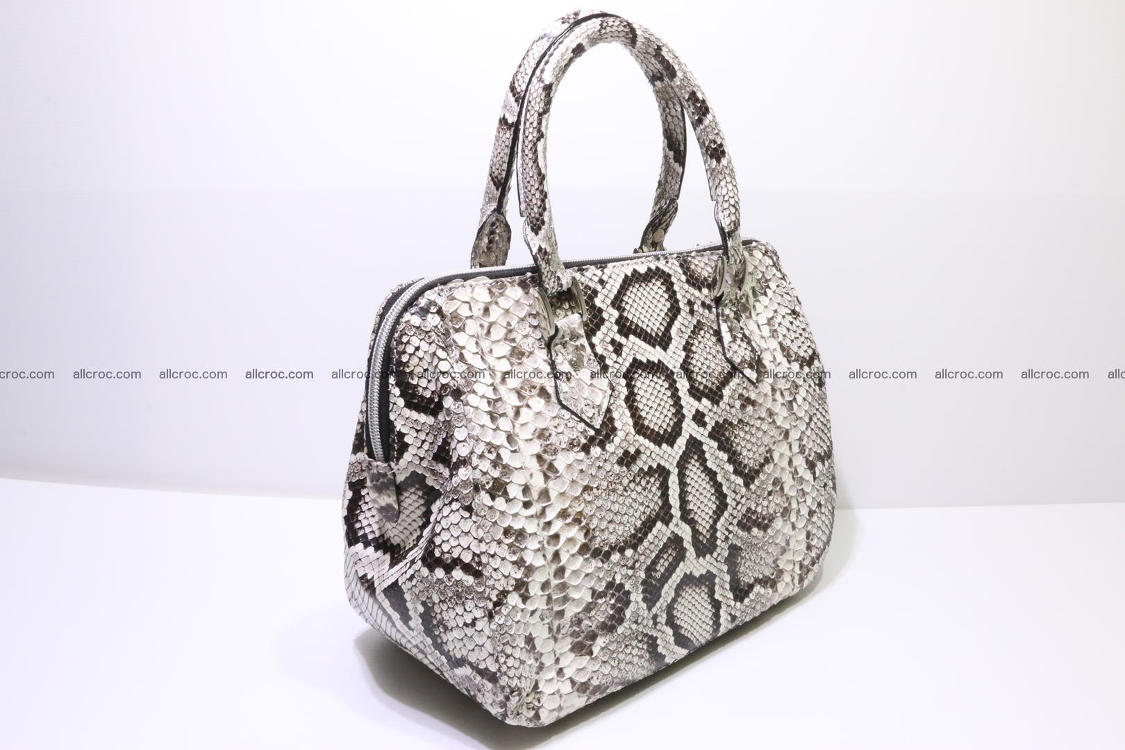 Python handbag for women from genuine python skin 218 Foto 1