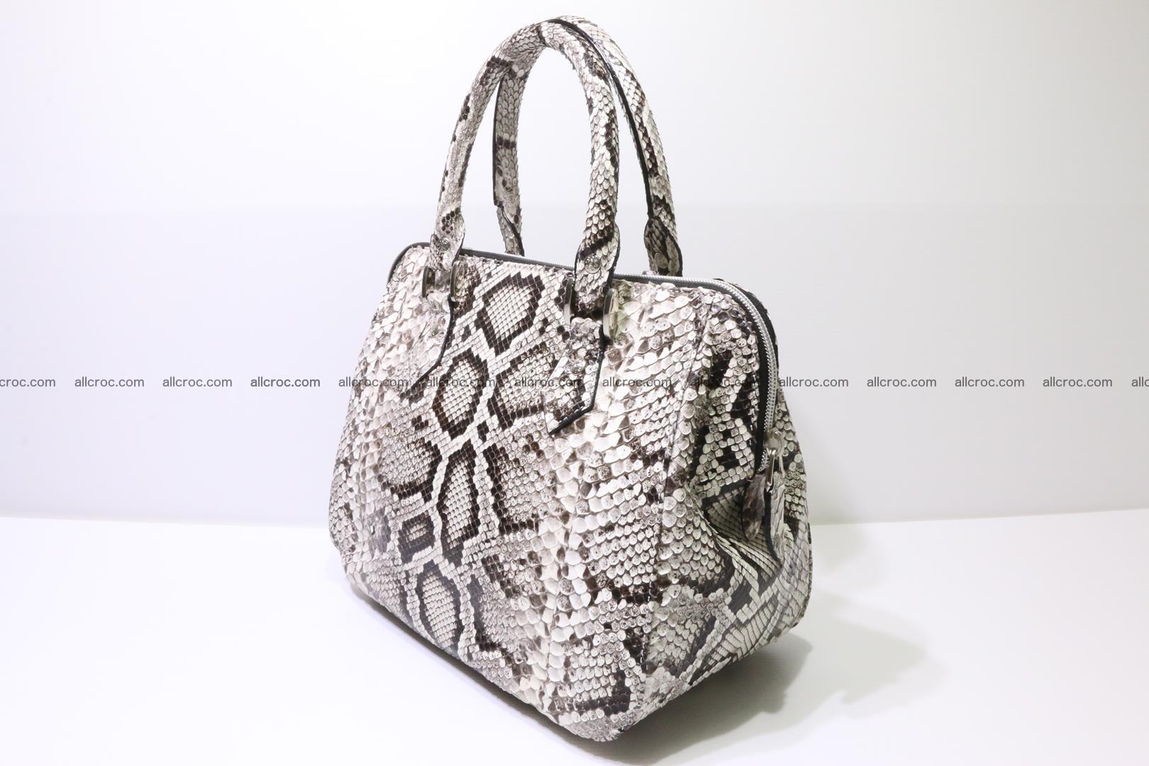 Python handbag for women from genuine python skin 218 Foto 2