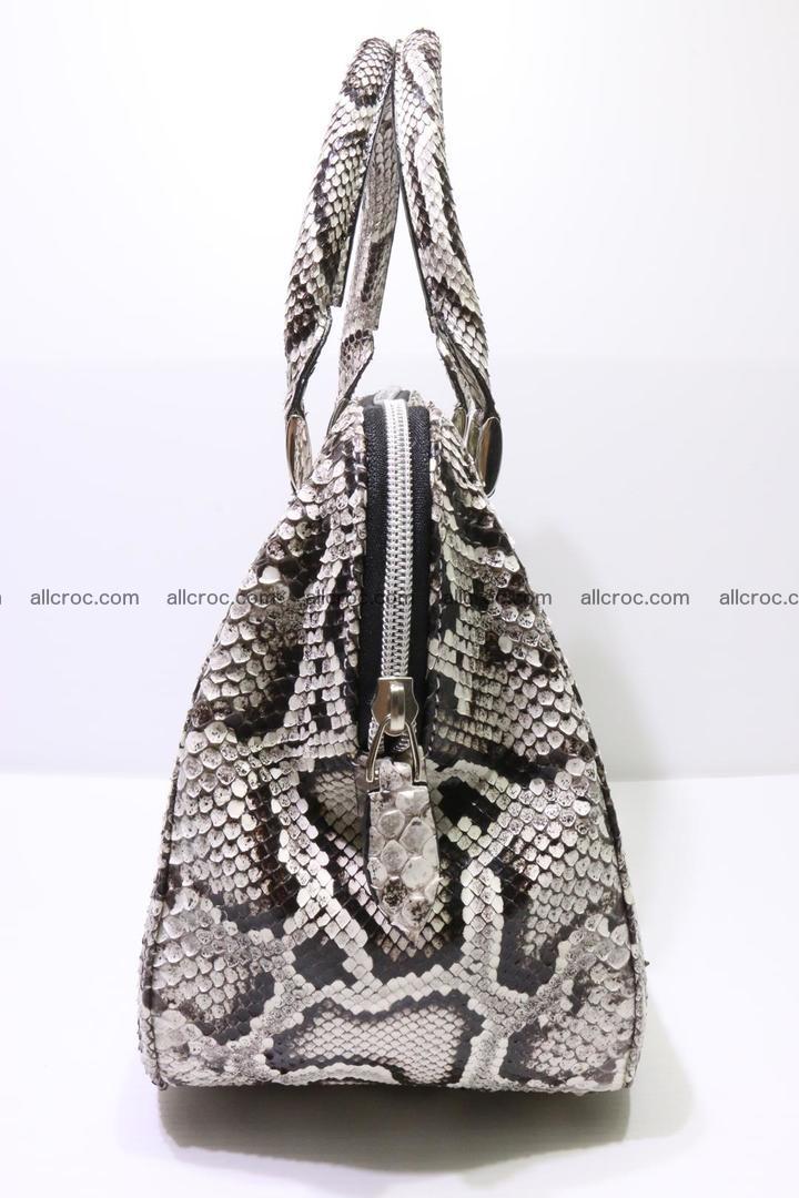 Python handbag for women from genuine python skin 218 Foto 3