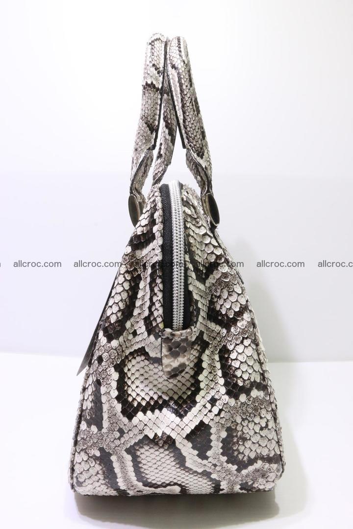 Python handbag for women from genuine python skin 218 Foto 4