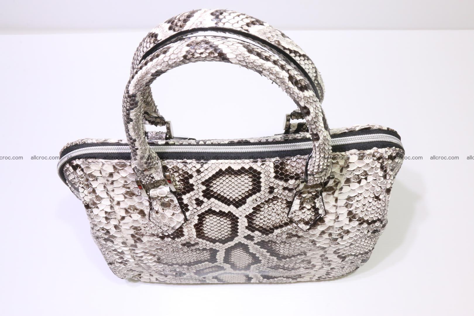 Python handbag for women from genuine python skin 218 Foto 5