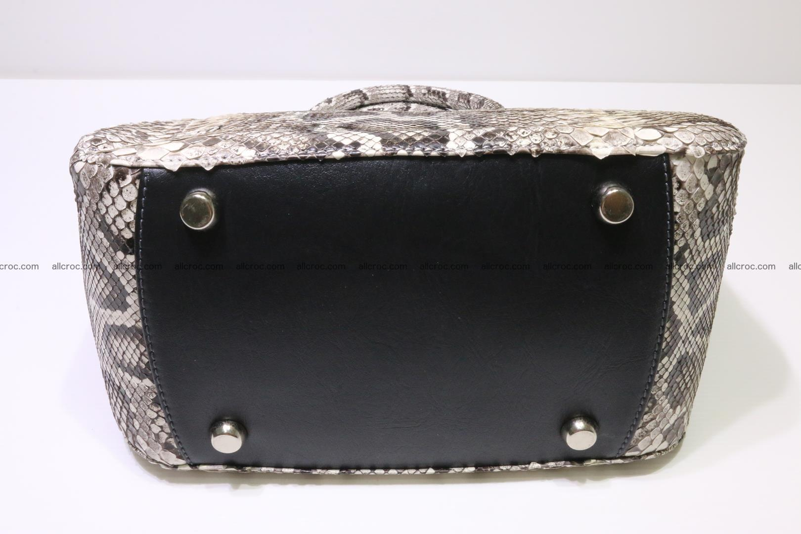 Python handbag for women from genuine python skin 218 Foto 6