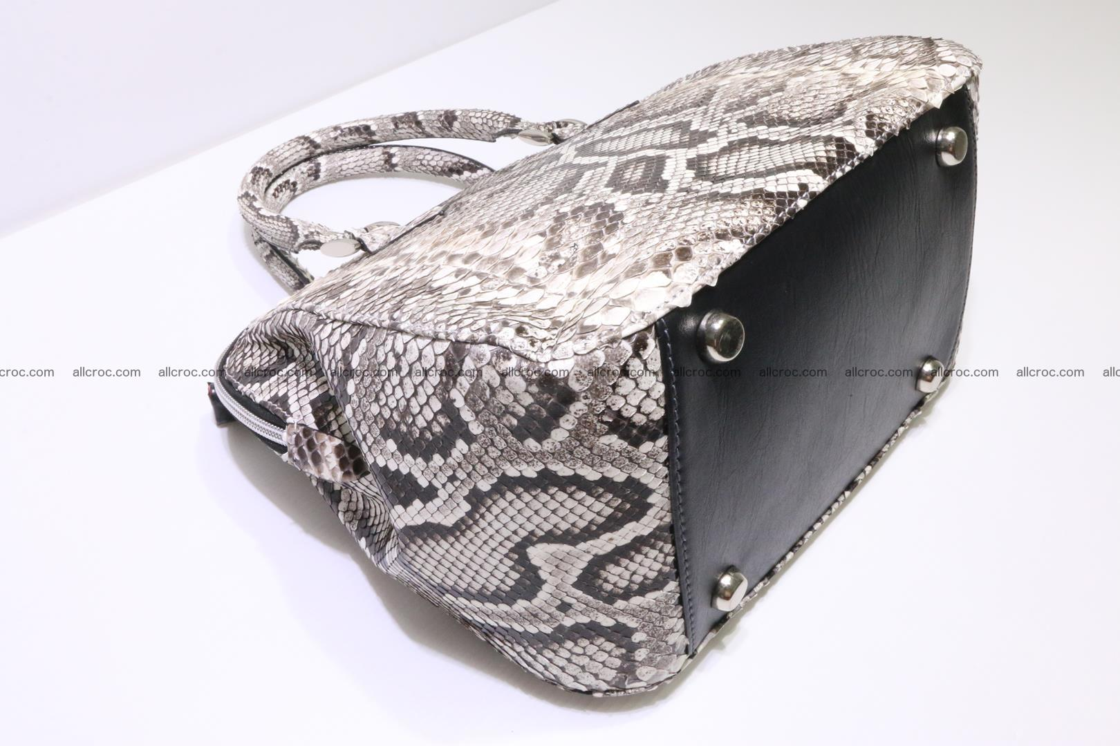 Python handbag for women from genuine python skin 218 Foto 7