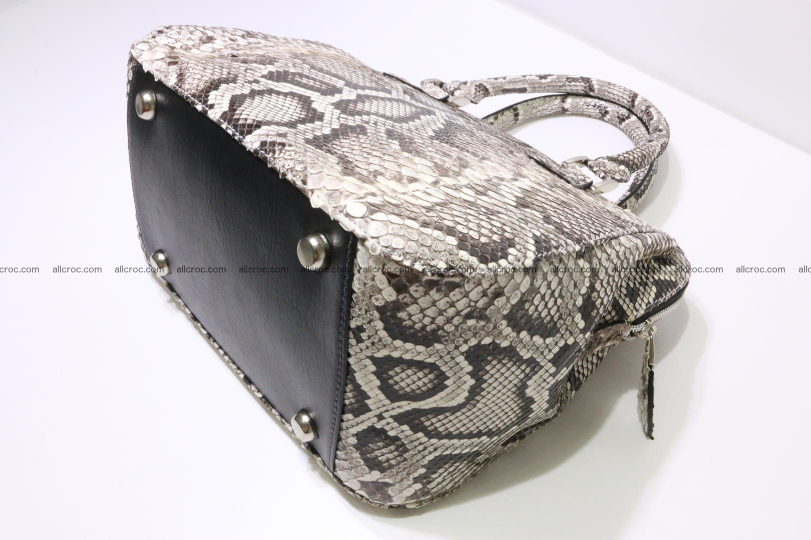 Python handbag for women from genuine python skin 218 Foto 8