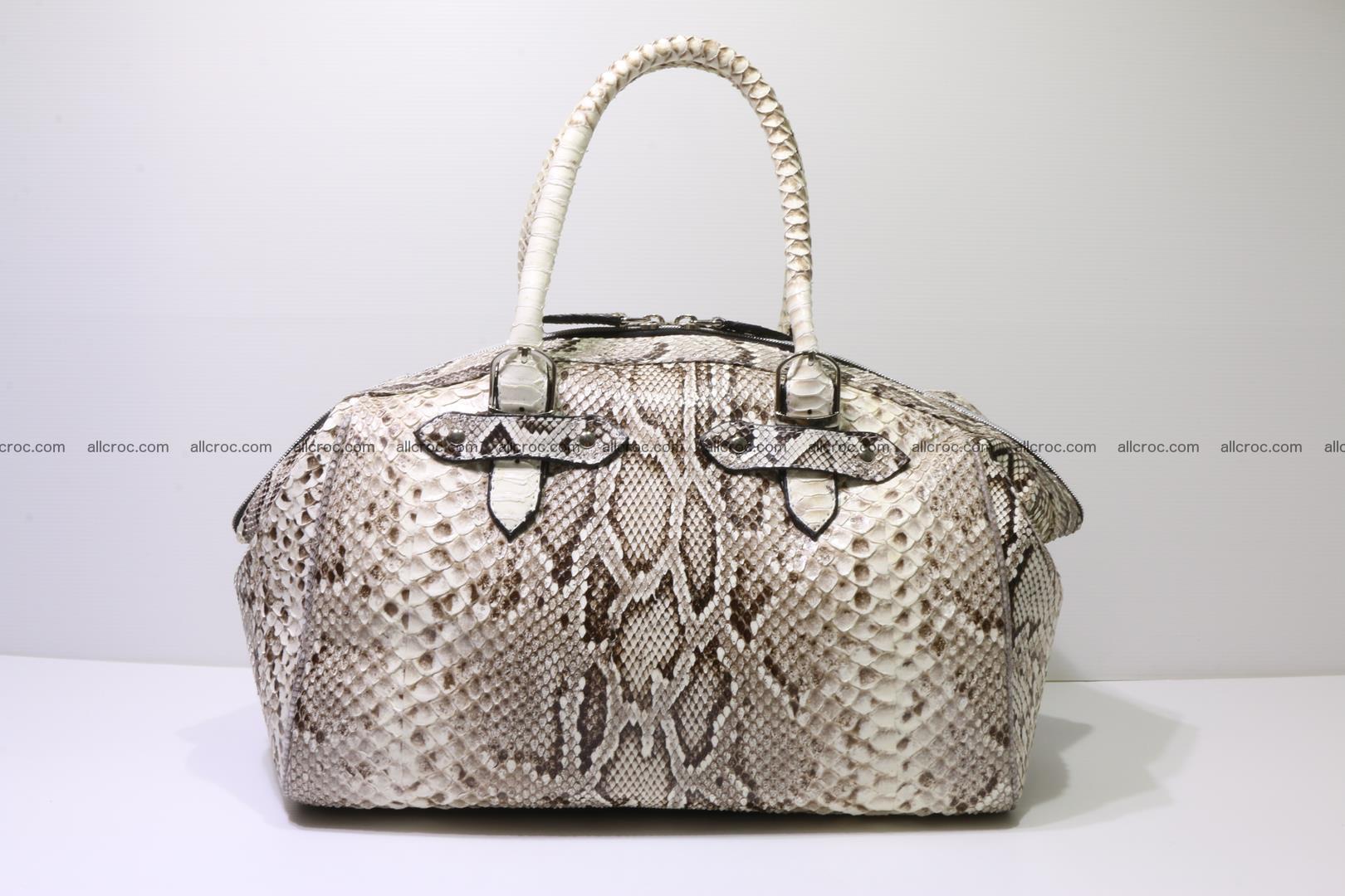 Python handbag for women from genuine python skin 219 Foto 0