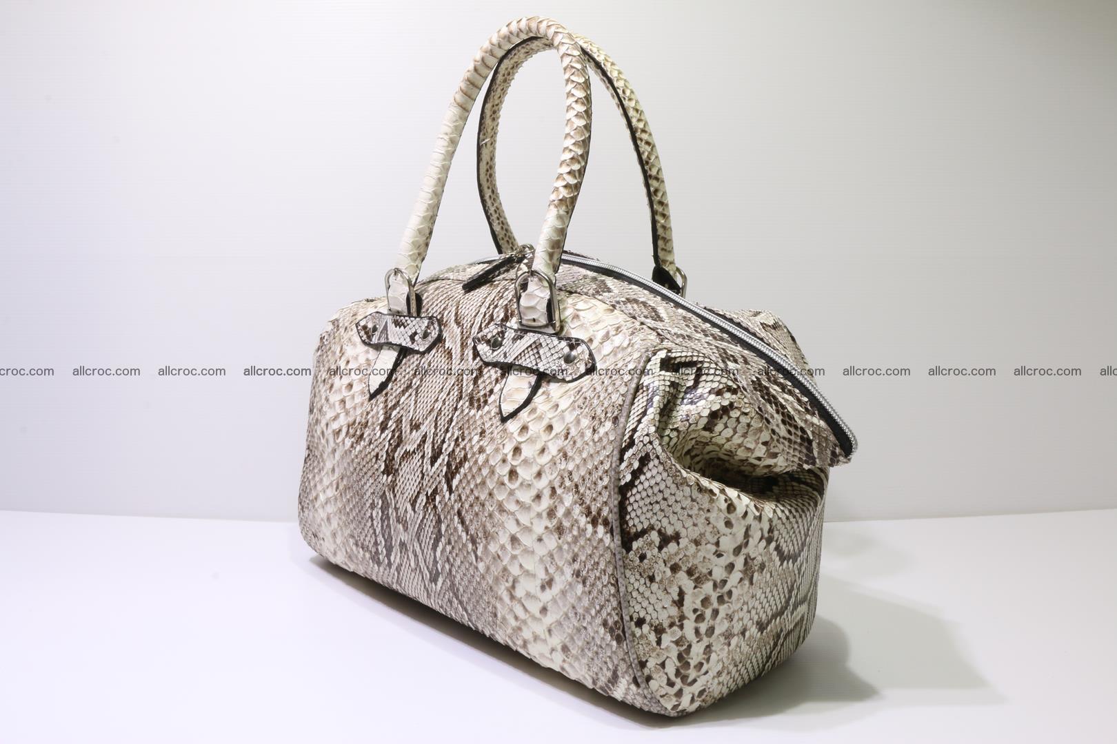 Python handbag for women from genuine python skin 219 Foto 1