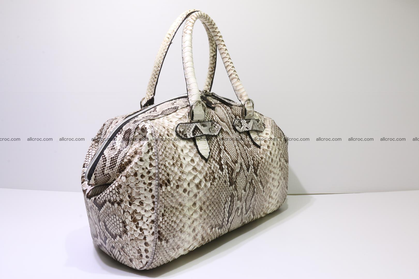 Python handbag for women from genuine python skin 219 Foto 2