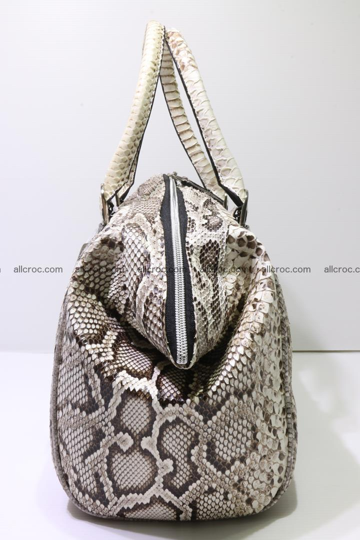Python handbag for women from genuine python skin 219 Foto 3