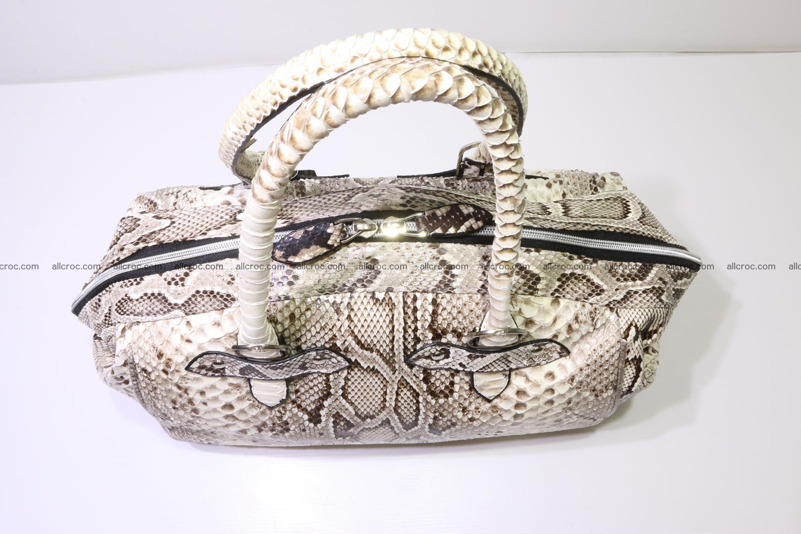 Python handbag for women from genuine python skin 219 Foto 4