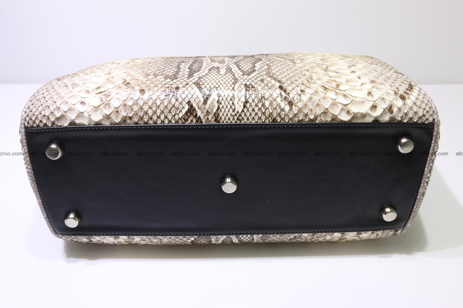 Python handbag for women from genuine python skin 219 Foto 5