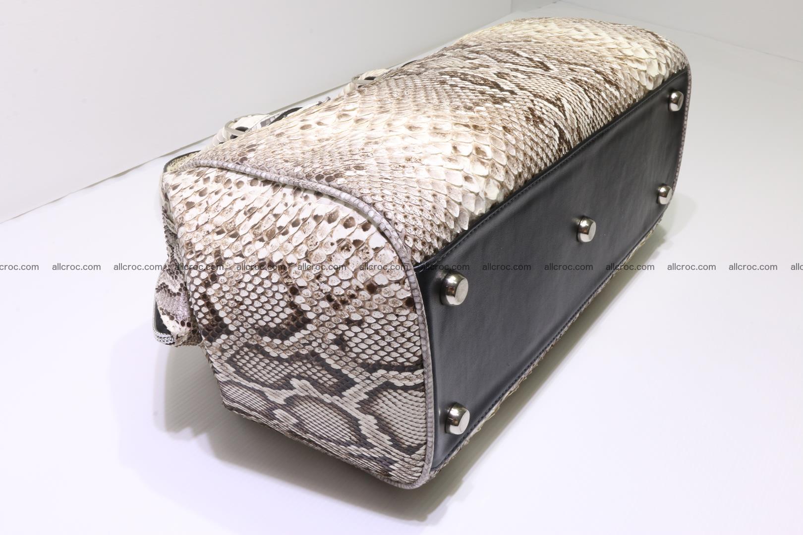 Python handbag for women from genuine python skin 219 Foto 6