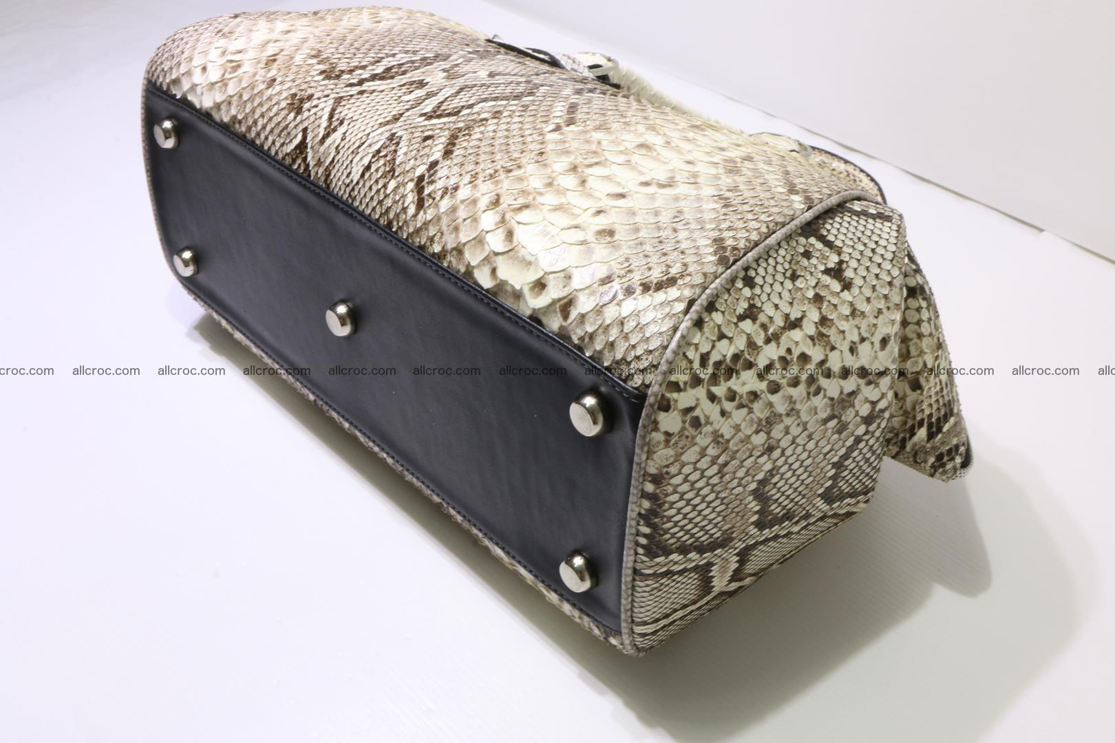 Python handbag for women from genuine python skin 219 Foto 7