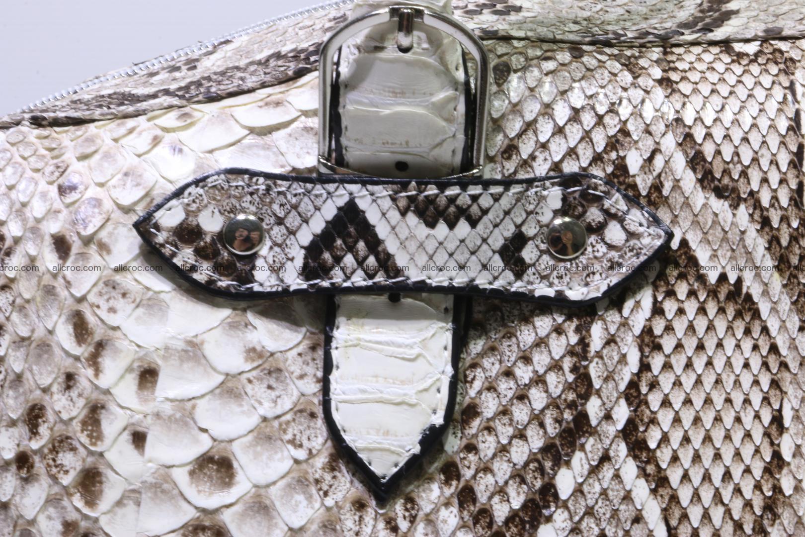Python handbag for women from genuine python skin 219 Foto 8