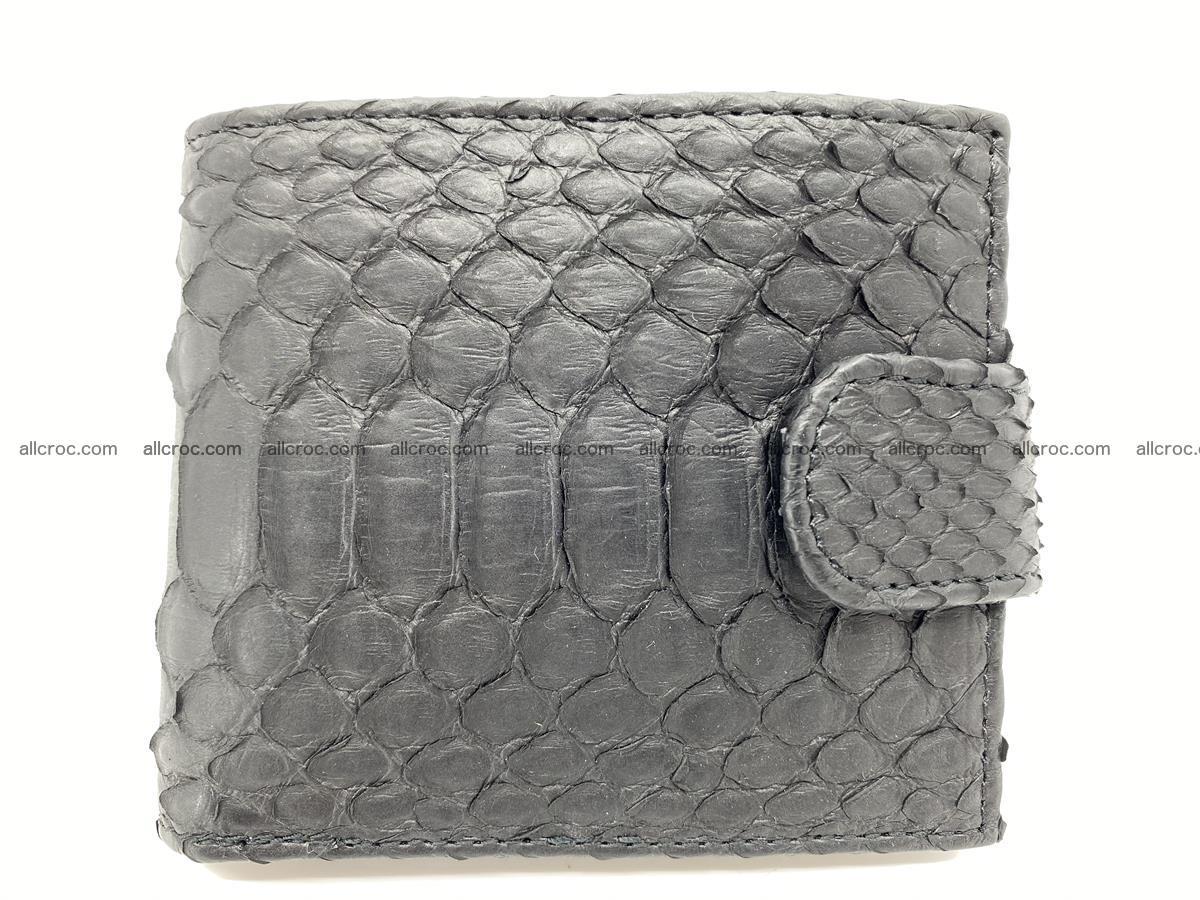 Python skin bifold wallet with coins pocket 881 Foto 0