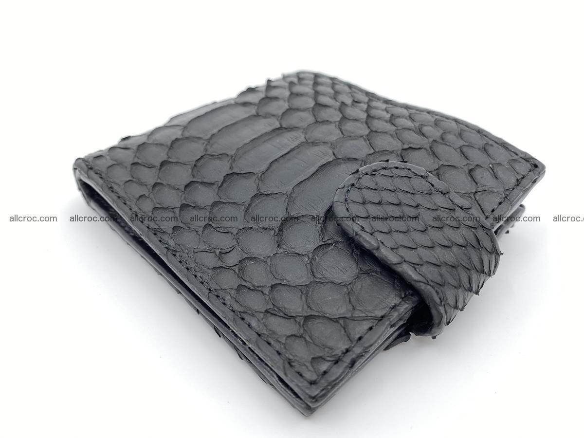 Python skin bifold wallet with coins pocket 881 Foto 2
