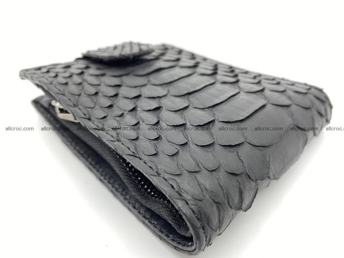 Python skin bifold wallet with coins pocket 881 Foto 4