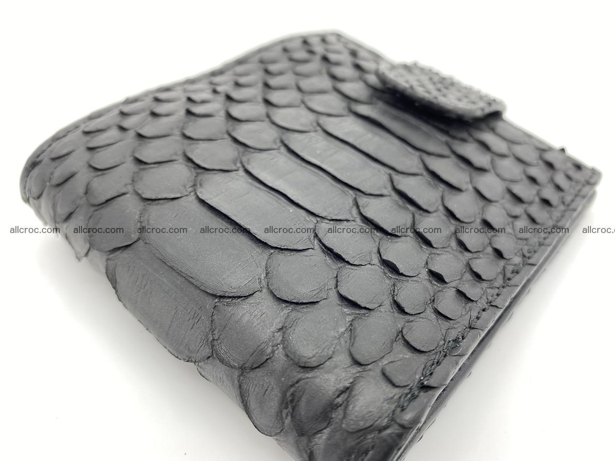 Python skin bifold wallet with coins pocket 881 Foto 5