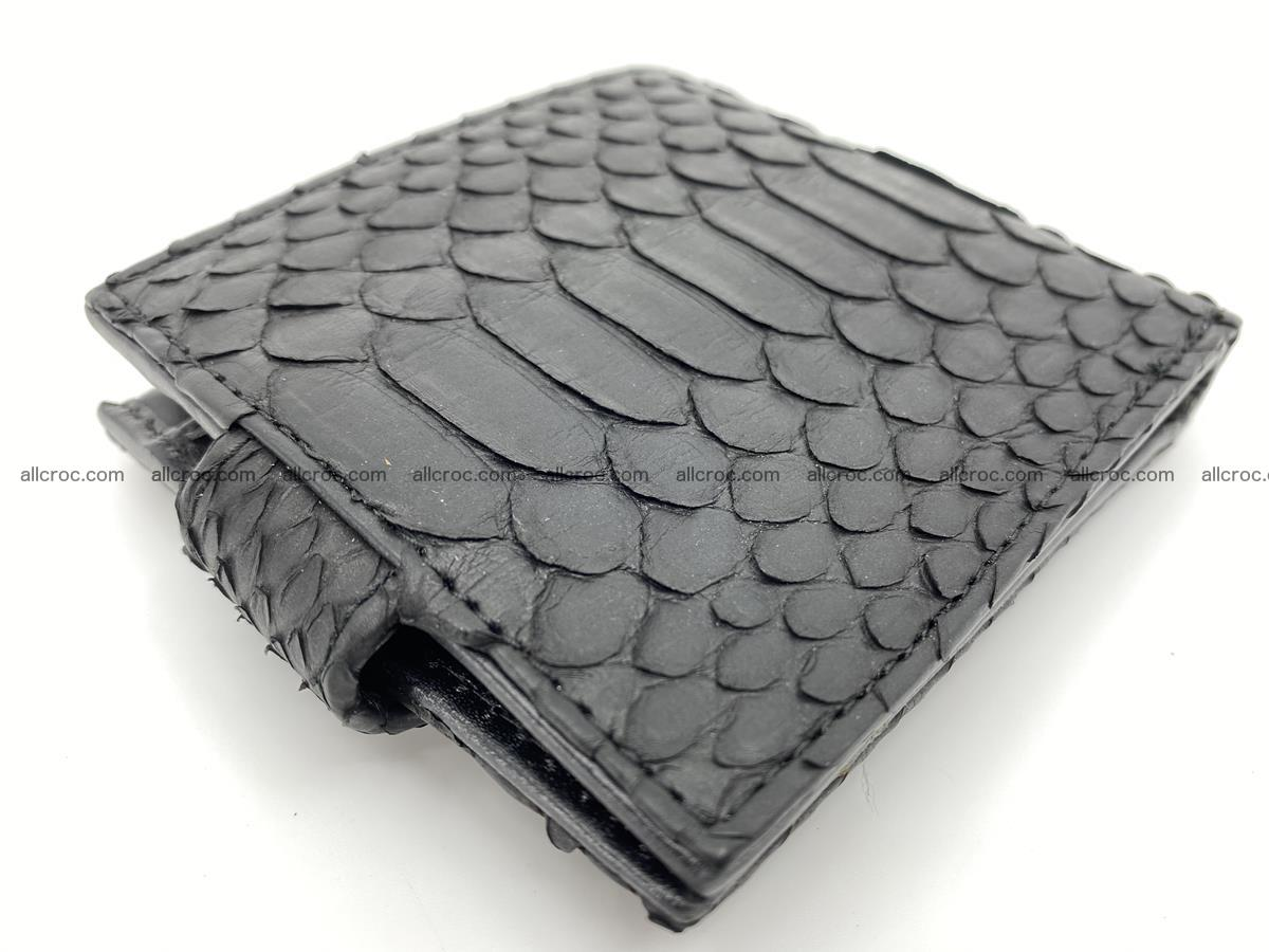 Python skin bifold wallet with coins pocket 881 Foto 6