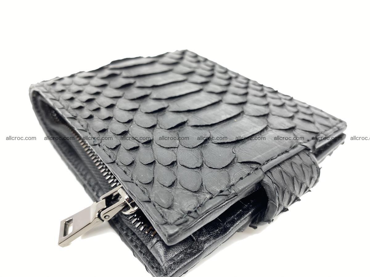 Python skin bifold wallet with coins pocket 881 Foto 7