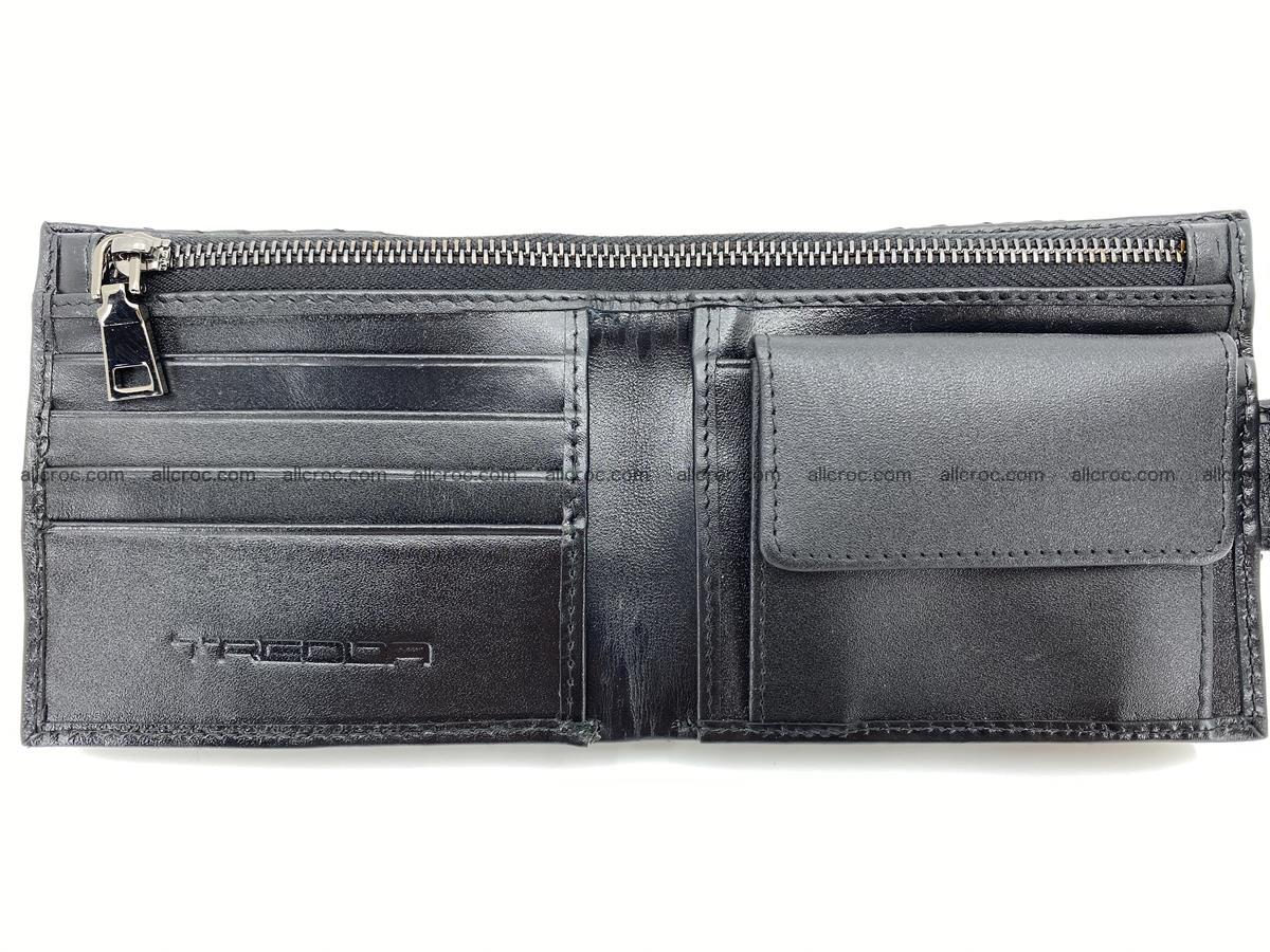Python skin bifold wallet with coins pocket 881 Foto 9
